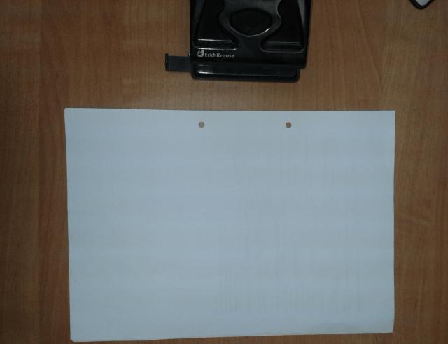 как сшивать документы