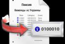 пенсия беженцам из украины